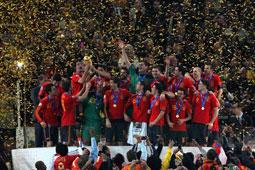 Les Espagnols sur le toit du monde