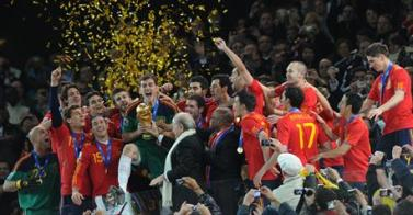 L'Espagne sacrée championne du monde