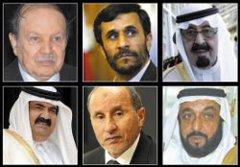 Pétrole et révolutions arabes,Guerre en coulisses