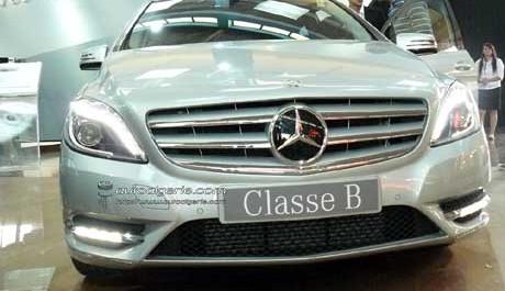 15e salon international de l'automobile d'Alger :GMS, les nouveaux Mercedes Classe B et M débarquent !