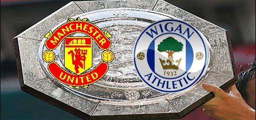 Manchester united 2-0 Wigan (COMMUNITY SHIELD) 11-08-2013