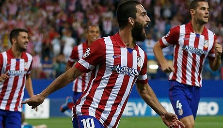 Atletico madrid 3-1 Zenit petersburg group G champions league