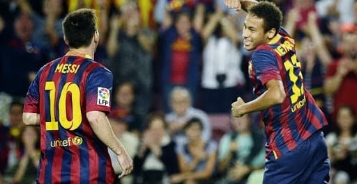 Barcelona 4:1 Real Sociedad Spain liga bbva 24-09-2013