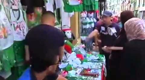 Al Arabiya : les supporters avant match Algerie Belgique