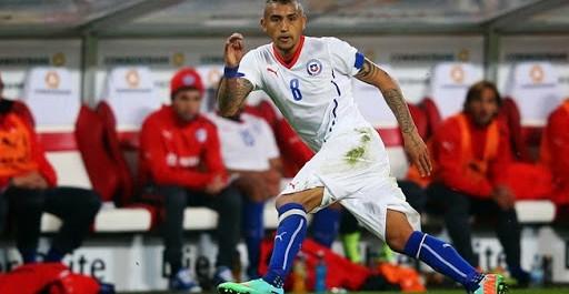Chili – Arturo Vidal pas impressionné par le brésil