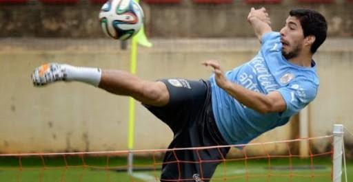 Uruguay: quatre matchs de suspension pour suarez ?