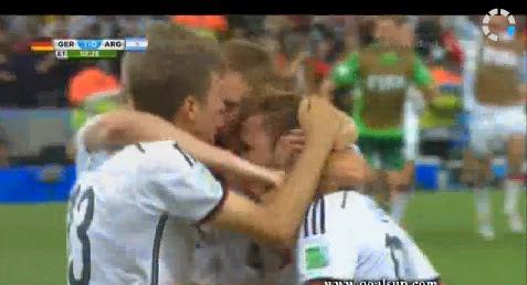 Les buts Allemagne 1-0 Argentine (finale)