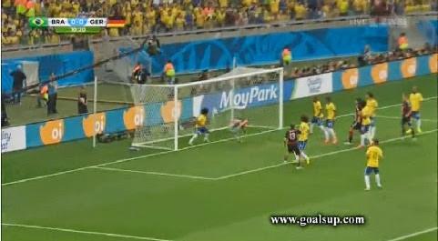 Les buts de : Brésil vs Allemagne (1-7)