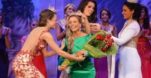 Miss America 2015 : Kira Kazantsev, élue, peut être »Happy»