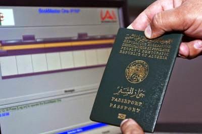 voyage algerie passeport