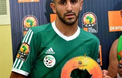 """Algérie (2-0) Sénégal – Riyad Mahrez élu """"homme du match"""""""