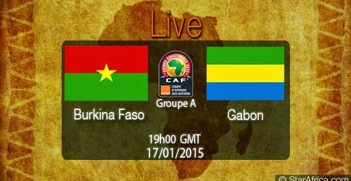 Burkina Faso – Gabon en direct streaming live 17/01/2015 à 20:00- Can2015