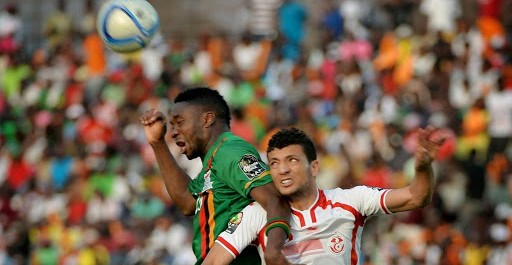 CAN 2015  Tunisie 2-1 Zambia 22-01-2015
