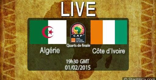 Chaines qui diffuseront le match Algérie Côte d'Ivoire 01/02/2015 à 20:30 can2015