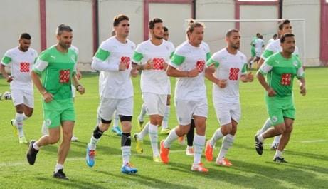 La séance d'entrainement de demain se fera à Sidi Moussa et non pas au stade Tchaker