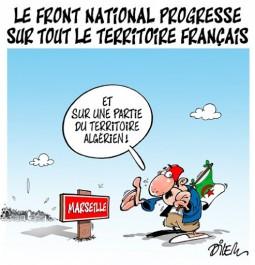 Le front national progresse sur tout le territoire Français