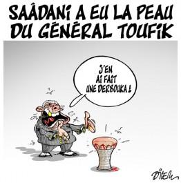 Saadani a eu la peau du général toufik