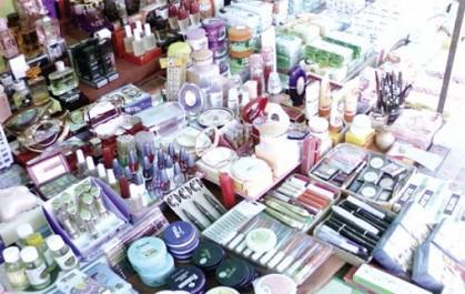 Saisie de millions de produits contrefaits