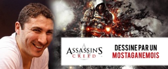 ASSASIN'S CREED : Dessiné par un Mostaganémois !