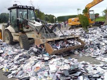 Près de 2 millions de CD et DVD contrefaits seront détruits la fin du mois à Alger