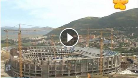 VIDÉO : Visite de l'équipe technique de la télévision algérienne au nouveau stade de Tizi Ouzou!