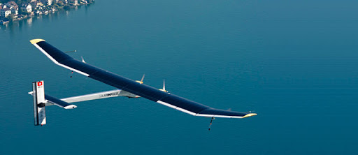 Survol de l'Algérie par l'avion Solar Impulse