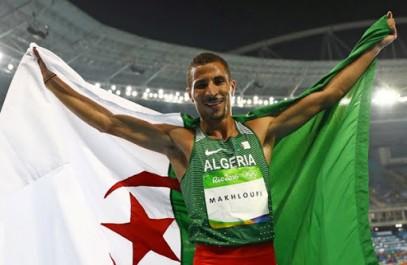 JO-2016: Sellal félicite Taoufik Makhloufi pour le double sacre