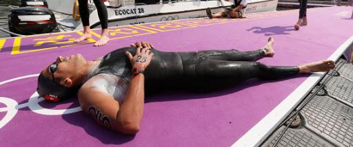 Rio 2016: Le nageur tunisien Oussema Mellouli finit 12eme au Marathon 10 kilomètres