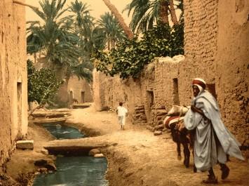 La ville de Biskra en exposition à l'Institut du Monde Arabe à Paris.