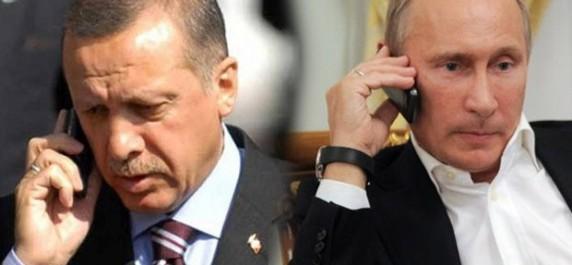 Poutine et Erdogan discutent de la Syrie