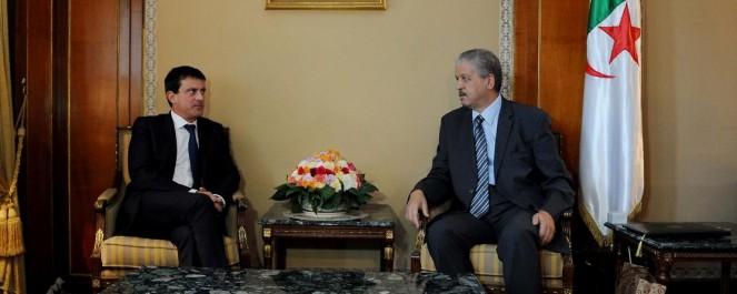 Sellal s'entretient à Tunis avec Manuel Valls