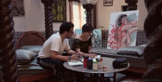 """""""ورشة ناس"""": un nouvel atelier à la Casbah crée un pont entre l'histoire et l'art."""