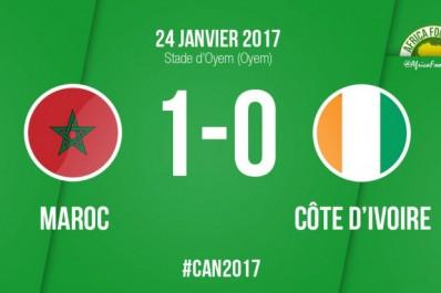 Le Maroc s'offre la Côte d'Ivoire et se qualifie pour les quarts !