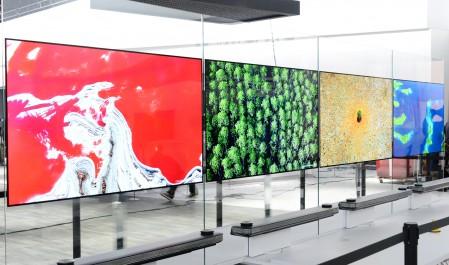 La série TVW des téléviseurs Oled signature de LG transporte la conception télévisuelle dans une toute nouvelle dimension lors du ces 2017