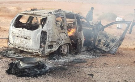 Alerte- 5 Morts carbonisés dans un accident de la route à Ghardaia  (PHOTOS)
