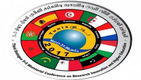 Dialogue 5+5 : L'Algérie participe à la 3e conférence des ministres de l'Enseignement supérieur et de la recherche scientifique