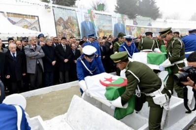 Bejaia : inhumation des ossements de 57 chahids à Zentout