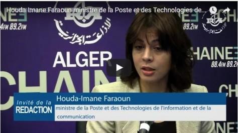 Imane-Houda Faraoun : il est « hors de question » qu'Algérie Poste soit privatisée