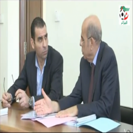 Présidence de la FAF: passation de consignes entre Raouraoua et Zetchi (Vidéo)