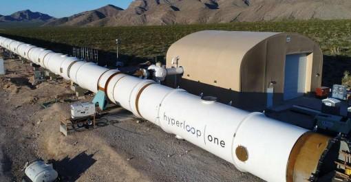 Hyperloop One : la piste d'essai du train ultrarapide est prête