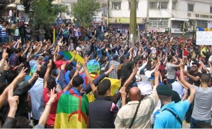 Célébration du 20 Avril 80:  Marches du RCD et du MAK en Kabylie