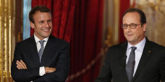 Présidentielle française: François Hollande annonce qu'il votera Emmanuel Macron au second tour