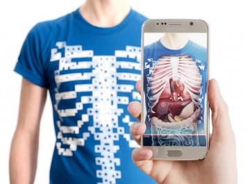 Virtuali-Tee : un T-shirt pour voir ses organes en live