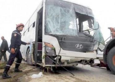 Un bus fou sème la terreur à Tissemsilt : Des blessés et de gros dégâts matériels