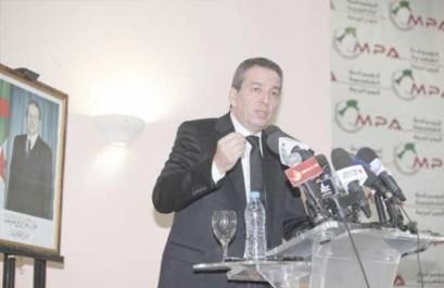 El Tarf : Pour le MPA, la stabilité du pays repose sur un vote massif