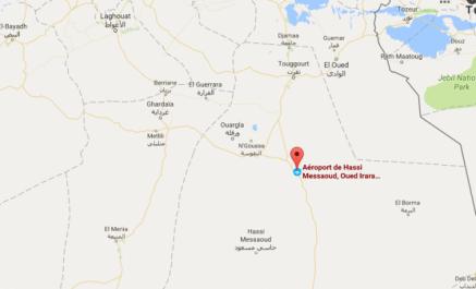 Incident à l'aéroport de Hassi Messaoud
