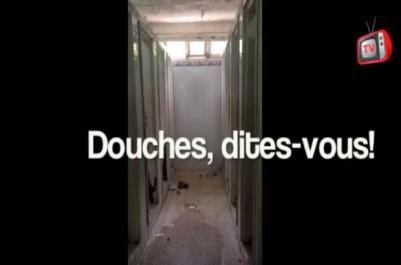 Vidéo: Résidence universitaire de Dely Brahim(Alger): les images de l'insalubrité