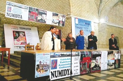 L'association Numidya d'Oran célèbre le 37éme printemps amazigh:  Mouloud Mammeri, Abdellah Hamane et Farid Ferragui à l'honneur