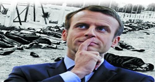 Macron devient président la veille du 72e anniversaire des massacres du 8 mai 45: Une élection, une date et des engagements