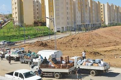 Wilaya d'Alger: plus de 80 familles occupant des bidonvilles à Dergana  relogées mercredi